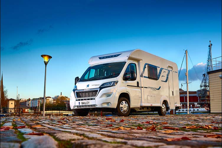 Bailey expands its choice of motorhomes with new entry-level