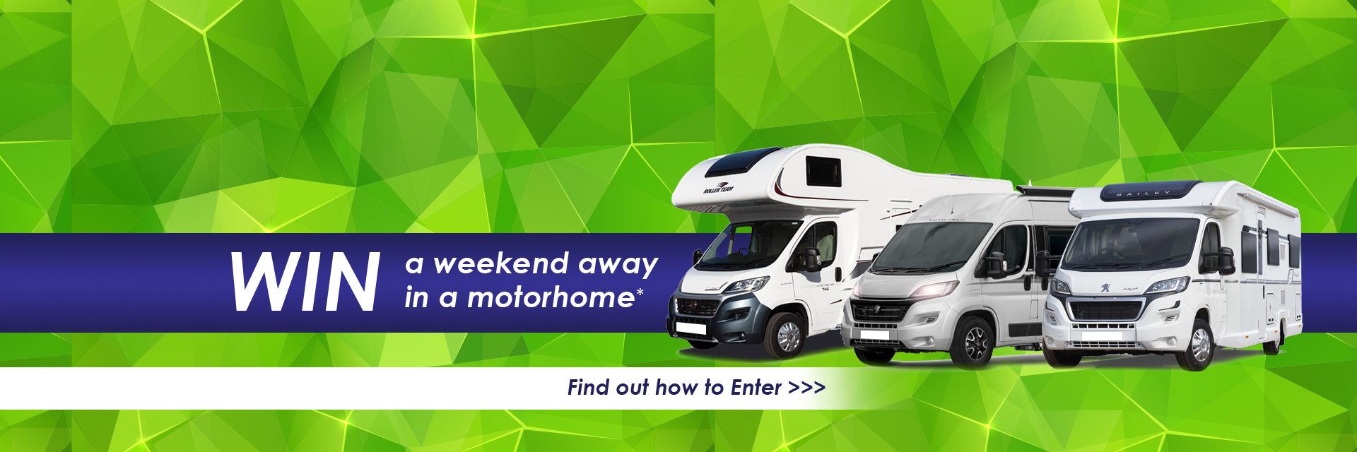 Image for Win a motorhome holiday